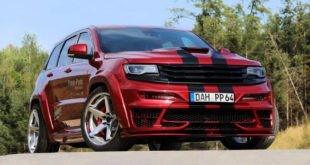 Widebody Jeep Grand Cherokee SRT Edition Series Tuning 4 310x165 Jeep Grand Cherokee Track Hork EDGE CUSTOMS Edition