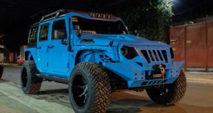 Widebody Jeep Wrangler by Autobot Offroad Tuning 1 310x165 Blaues Monster   Widebody Jeep Wrangler by Autobot
