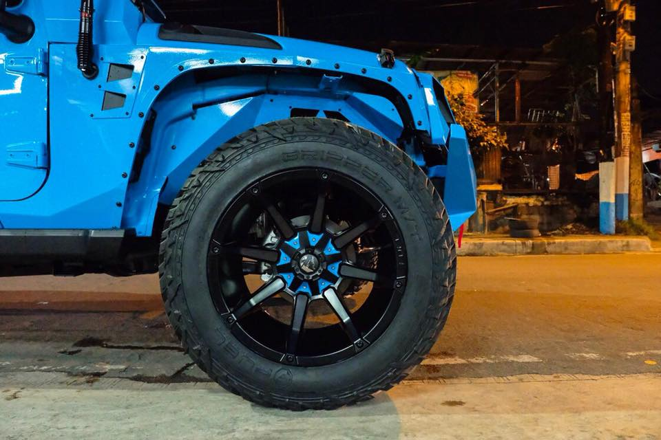 Widebody Jeep Wrangler by Autobot Offroad Tuning 8 Blaues Monster   Widebody Jeep Wrangler by Autobot