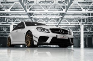 Widebody Mercedes C63 AMG Barracuda Shoxx W204 2 310x205 Widebody Mercedes C63 AMG auf Barracuda Shoxx Felgen
