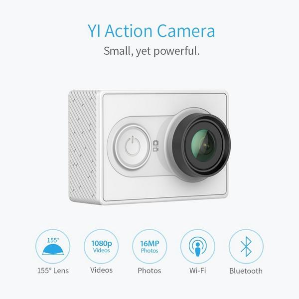 Xiaoyi Yi Action 2K tuningblog 6 Low Budget Action Cam gesucht? A7LS YI Action Camera