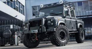 2018 Big Foot Kahn Design Monster Land Rover Defender 2 310x165 Kahn Design Land Rover Defender in Burgunder/Schwarz