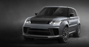 2018 Range Rover Sport 5.0 V8 SVR Carbon Edition Pace Car 1 310x165 Zu Ehren von Harry & Meghan! Kahn Flying Huntsman 105 Longnose