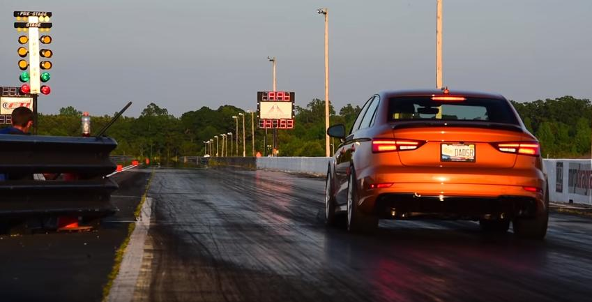 Audi Srt: Video: APR Audi RS3 Vs. Dodge Challenger SRT Demon
