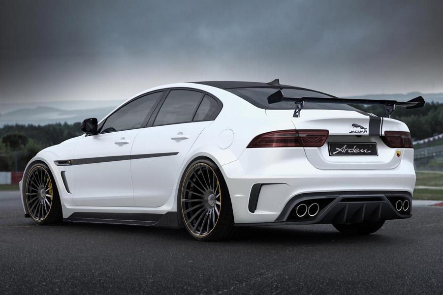 Arden AJ 24 RS Jaguar XE X760 Tuning Widebody 4 Heftig: Arden AJ 24 RS 463 PS Dampfhammer Jaguar XE
