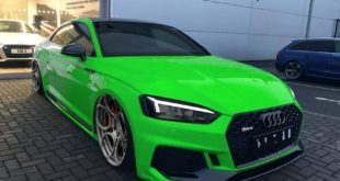 Audi RS5 F5 B9 Tuning 2018 310x165 Flashy Audi RS5 (F5) Coupe على ADV.1 Wheels Wheels