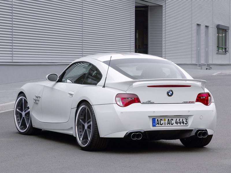 BMW ACS4 Z4 Coupe E86 E85 Bodykit Tuning 4 Rarität BMW ACS4 Z4 Coupe (E86) mit Bodykit & 290 PS