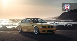 BMW E46 M3 Phoenix Yellow HRE 540 Tuning 1 310x165 Legend BMW E46 M3 in Phoenix Yellow on HRE rims