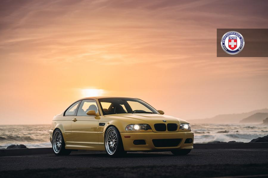 Legend Bmw E46 M3 In Phoenix Yellow On Hre Rims Tuningblog Eu