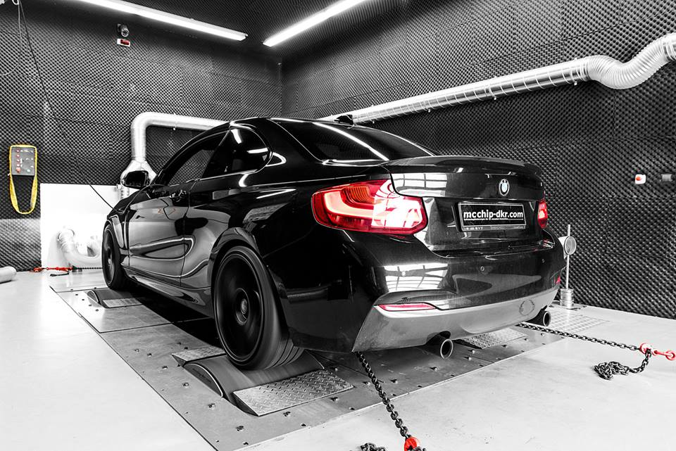 BMW M235i 448 PS Chiptuning 1 Bye bye M2 & M3   BMW M235i mit 448 PS by mcchip dkr