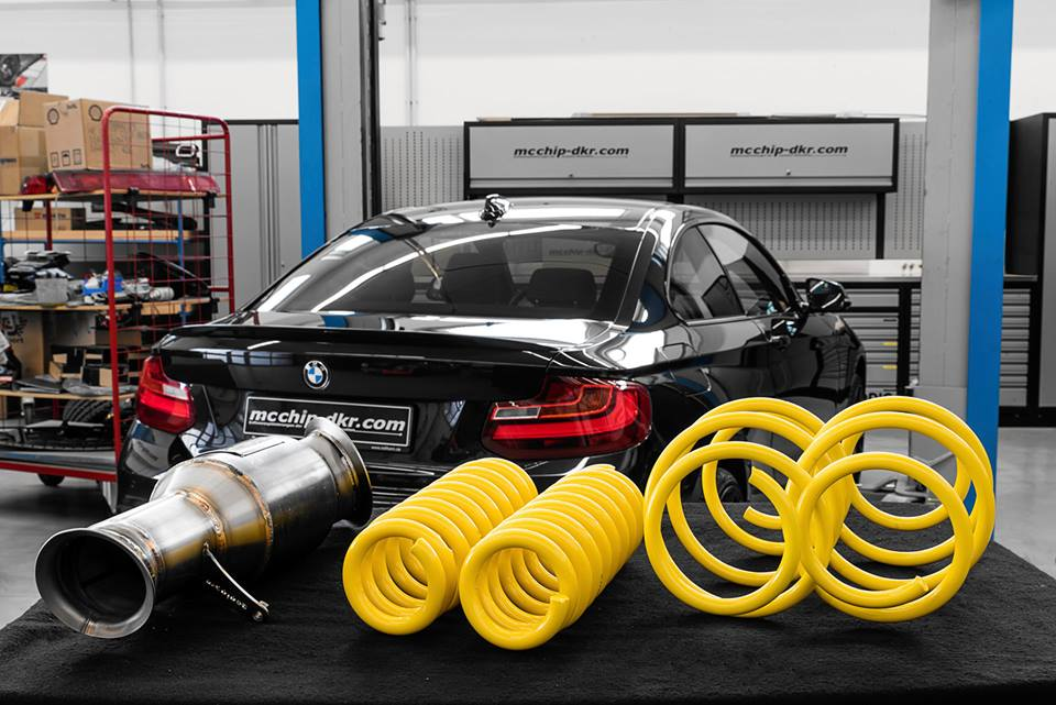 BMW M235i 448 PS Chiptuning 5 Bye bye M2 & M3   BMW M235i mit 448 PS by mcchip dkr