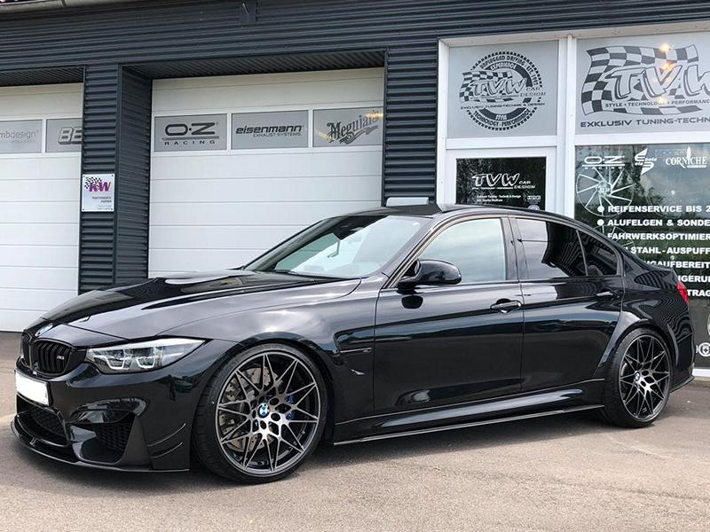 Decent Lower Wider Bmw M3 Competition F80 By Tvw Tuningblog