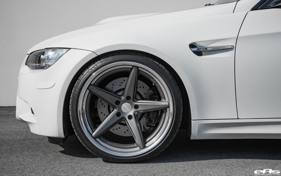 BMW M3 E92 Coupe Vossen Wheels VWS 3 Tuning 5 BMW E92 M3 in alpinweiß auf Vossen Wheels by EAS
