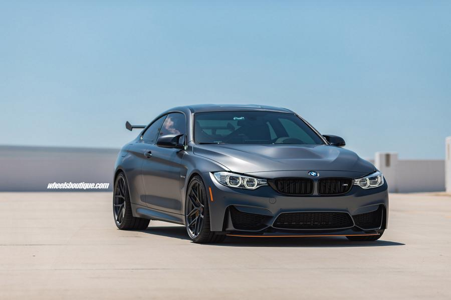 BMW M4 GTS F82 HRE R101LW Tuning 12 HRE R101LW Felgen in 20 Zoll am BMW M4 GTS Coupe