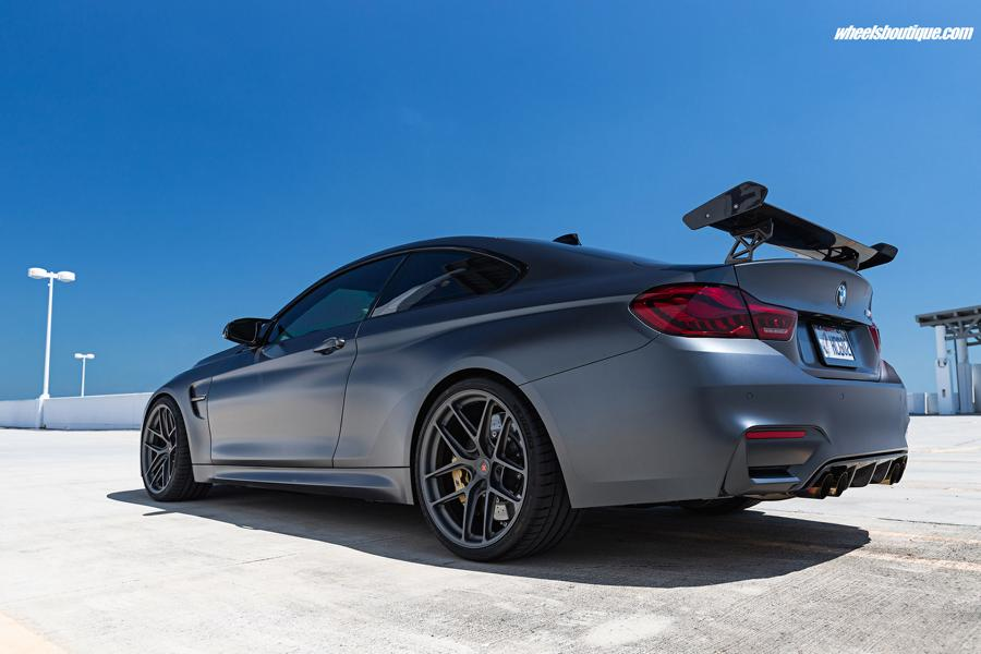 BMW M4 GTS F82 HRE R101LW Tuning 3 HRE R101LW Felgen in 20 Zoll am BMW M4 GTS Coupe