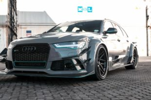 DarwinPro Bodykit Audi RS6 Tuning ADV.1 Wheels 53 310x205 Brutal   DarwinPro Bodykit am Audi RS6 von RACE! South Africa