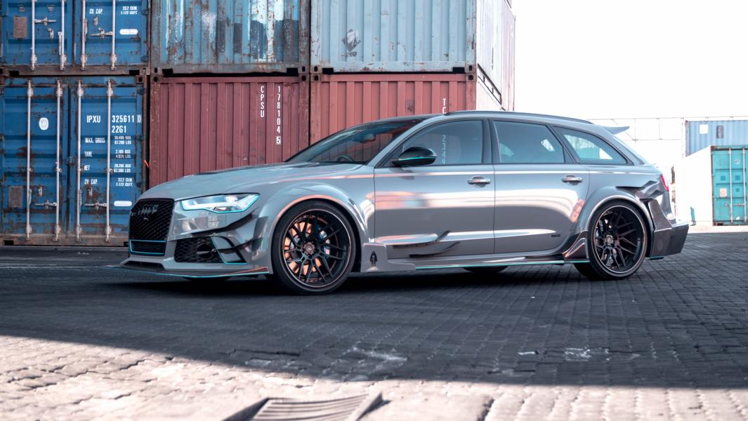 DarwinPro Bodykit Audi RS6 Tuning ADV.1 Wheels 80 Brutal   DarwinPro Bodykit am Audi RS6 von RACE! South Africa