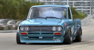 Datsun 521 Pickup Pandem rocektbunny Widebody Kit Tuning 1 310x165 Vorschau: Pandem Toyota Supra (A90) Widebody kit