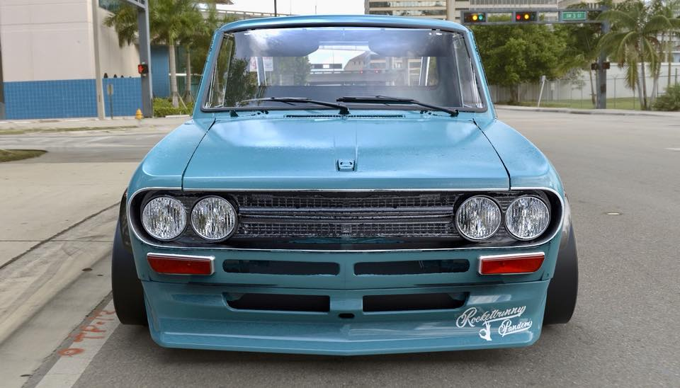 Fat Classic Pandem Widebody Datsun 521 Pickup