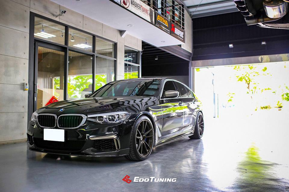right edo tuning bmw g30 540i on hre p104 alus. Black Bedroom Furniture Sets. Home Design Ideas