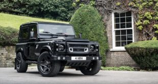 Kahn Flying Huntsman 105 Longnose Land Rover Defender Tuning 1 310x165 Kahn Design Land Rover Defender in Burgunder/Schwarz