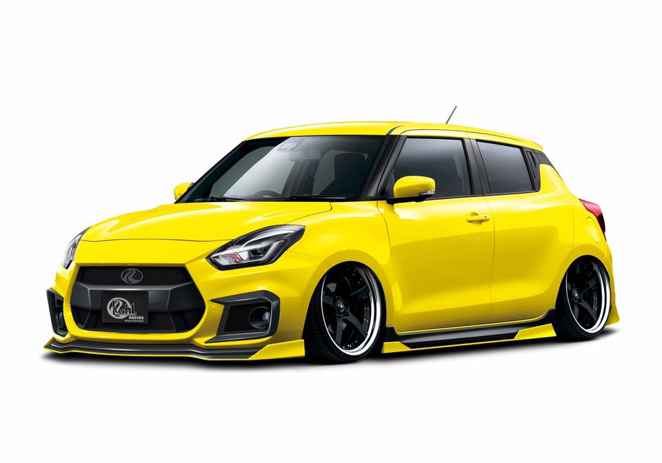 Kuhl-Racing Suzuki Swift ZC33S Bodykit Tuning (1)