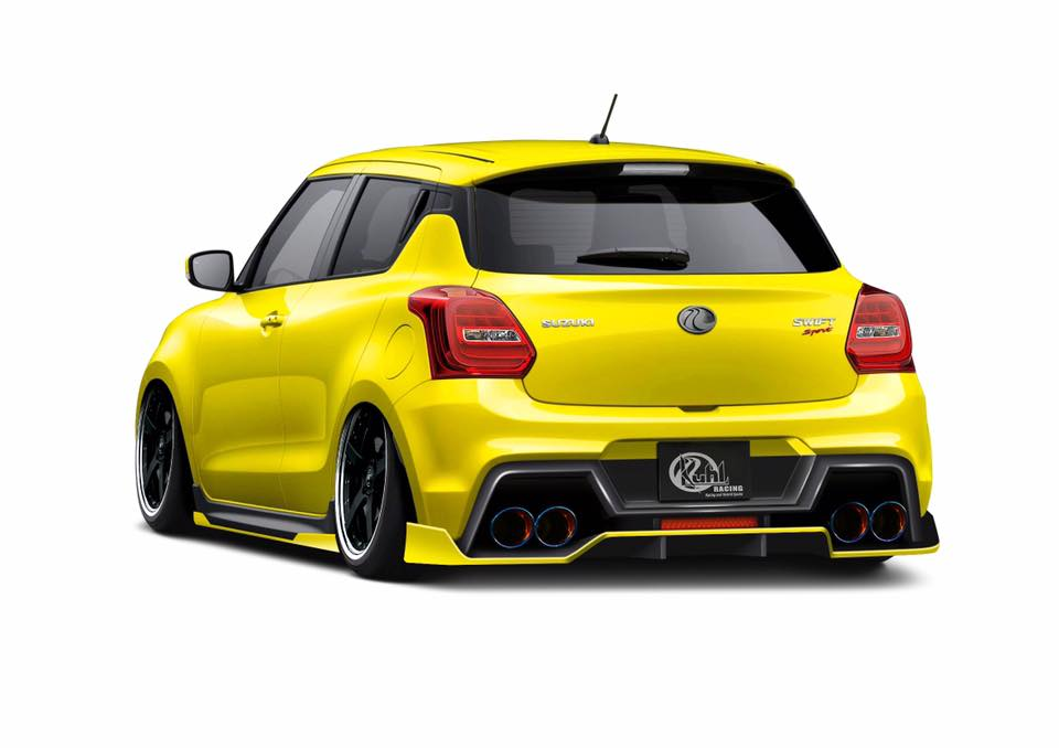 Kuhl Racing Suzuki Swift ZC33S Bodykit Tuning 2 Vorschau: Kuhl Racing Suzuki Swift (ZC33S) in Planung