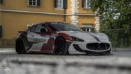 Liberty Walk Maserati GT Z Performance Wheels Airrex Tuning 1 190x107 Brutal   Liberty Walk Maserati GT auf Z Performance Wheels