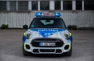 MINI John Cooper Works F56 RETTmobil 2018 Tuning Polizei 1 190x124 RETTmobil 2018   Polizei Design am MINI John Cooper Works F56