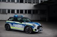 MINI John Cooper Works F56 RETTmobil 2018 Tuning Polizei 10 190x124 RETTmobil 2018   Polizei Design am MINI John Cooper Works F56