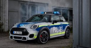MINI John Cooper Works F56 RETTmobil 2018 Tuning Polizei 11 310x165 RETTmobil 2018   Polizei Design am MINI John Cooper Works F56