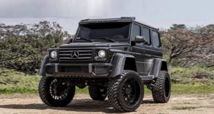 Mercedes Benz G500 4%C3%974%C2%B2 37 Zoll Tuning Black 1 2 310x165 Video: Kann man machen   Nissan Armada Mountain Patrol