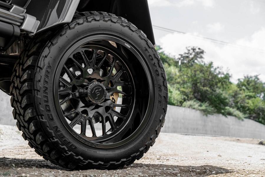 Mercedes Benz G500 4×4² 37 Zoll Tuning Black 3 Irres Monster   Mercedes Benz G500 4×4² auf 37 Zöllern