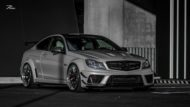 Mercedes C63 AMG BS W204 Z Performance Tuning 3 190x107 Mercedes C63 AMG Black Series Style auf Z Performance Felgen