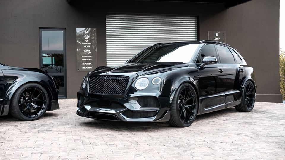 ONYX Carbon Widebody Kit Bentley Bentayga Tuning 63 Perfekt   2 x ONYX Bentley Bentayga by RACE! South Africa