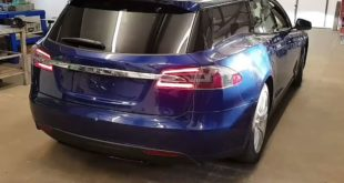 QWEST Norfolk Tesla Model S Kombi Shootingbrake Tuning 8 310x165 Video: Tesla Model S als Kombi vom Tuner QWest Norfolk