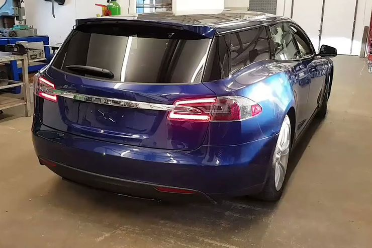QWEST Norfolk Tesla Model S Kombi Shootingbrake Tuning 8 Video: Tesla Model S als Kombi vom Tuner QWest Norfolk