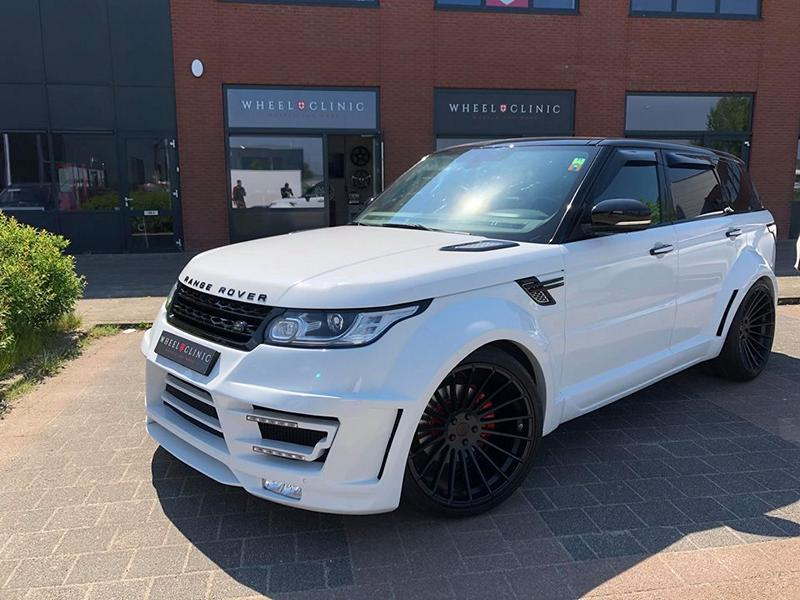 Range Rover Sport Hamann Motorsport Widebody Kit 23 Zoll Tuning 1 Hamann 23 Zöller & Widebody Kit am Range Rover Sport