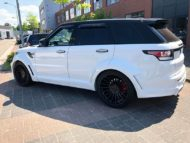 Range Rover Sport Hamann Motorsport Widebody Kit 23 Zoll Tuning 11 190x143 Hamann 23 Zöller & Widebody Kit am Range Rover Sport