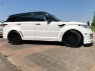 Range Rover Sport Hamann Motorsport Widebody Kit 23 Zoll Tuning 12 190x143 Hamann 23 Zöller & Widebody Kit am Range Rover Sport