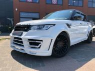 Range Rover Sport Hamann Motorsport Widebody Kit 23 Zoll Tuning 3 190x143 Hamann 23 Zöller & Widebody Kit am Range Rover Sport