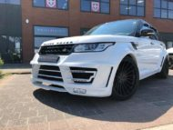 Range Rover Sport Hamann Motorsport Widebody Kit 23 Zoll Tuning 4 190x143 Hamann 23 Zöller & Widebody Kit am Range Rover Sport