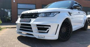 Range Rover Sport Hamann Motorsport Widebody Kit 23 Zoll Tuning 4 310x165 Nice   Brabus Mercedes E63s AMG vom Tuner Wheelclinic