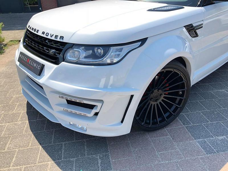 Range Rover Sport Hamann Motorsport Widebody Kit 23 Zoll Tuning 6 Hamann 23 Zöller & Widebody Kit am Range Rover Sport