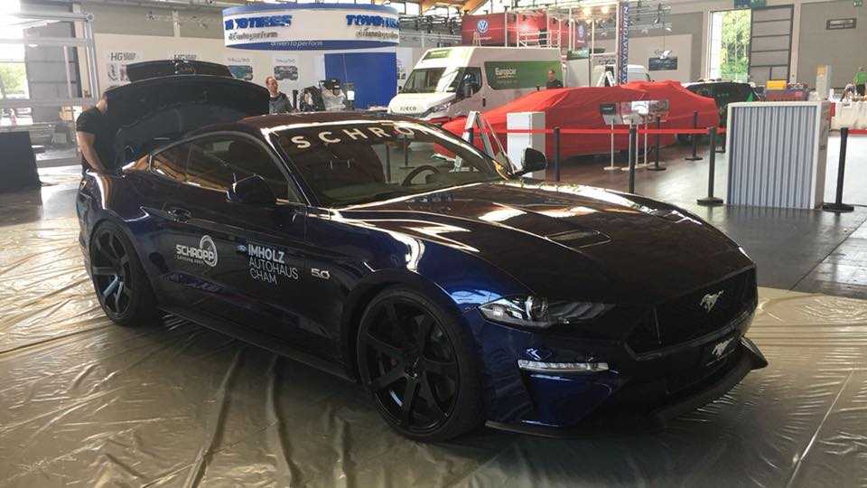 Roush 650 PS Ford Mustang GT SF650 Tuning 1 Jetzt auch im Facelift   650 PS für den Ford Mustang GT