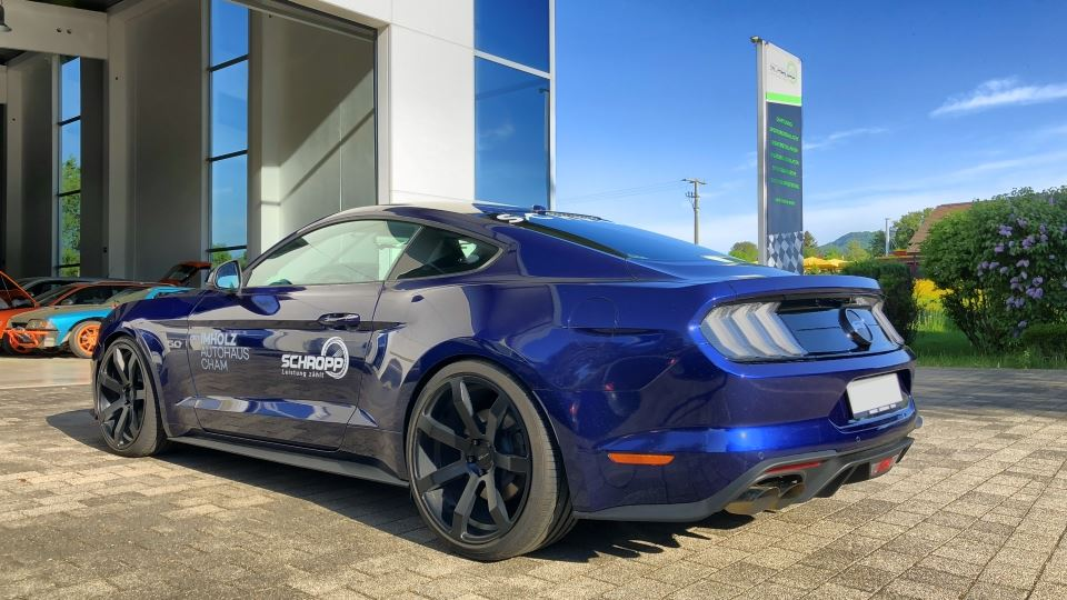 Roush 650 PS Ford Mustang GT SF650 Tuning 6 Jetzt auch im Facelift   650 PS für den Ford Mustang GT