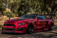 STAGE 3 Performance Ford Mustang GT Tuning Widebody 10 190x127 Video: Stage3 Performance V2 kit am Ford Mustang GT