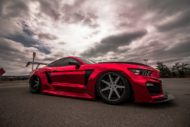 STAGE 3 Performance Ford Mustang GT Tuning Widebody 14 190x127 Video: Stage3 Performance V2 kit am Ford Mustang GT