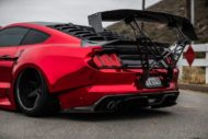 STAGE 3 Performance Ford Mustang GT Tuning Widebody 5 190x127 Video: Stage3 Performance V2 kit am Ford Mustang GT