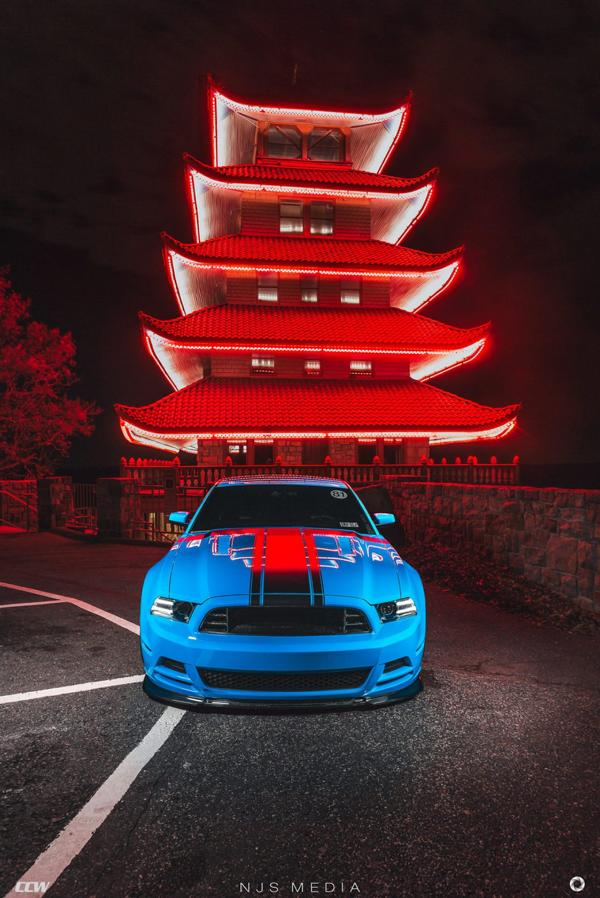 Shelby Ford Mustang GT500 CCW Felgen Tuning 1 Fotostory: Shelby Ford Mustang GT500 auf CCW Felgen